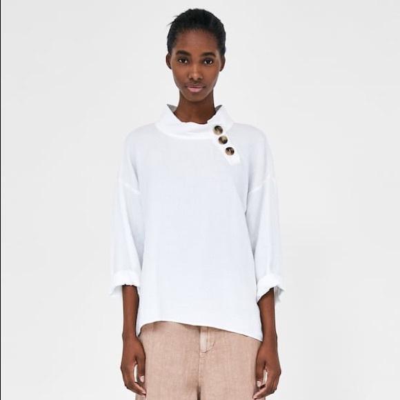 c8abf261 Zara Linen Collared Shirt. M_5cc5dcce9ed36db4fd0ef8ba
